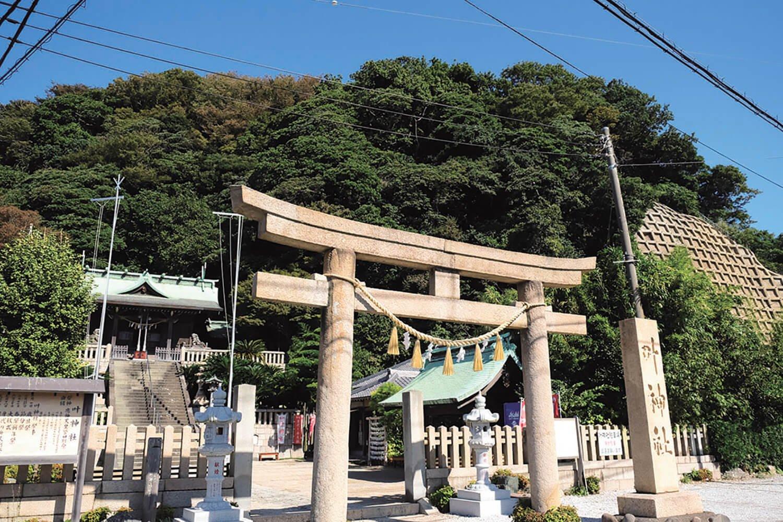 東叶神社。