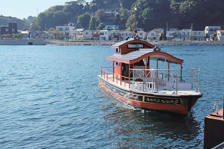浦賀奉行所ができた頃に始まった浦賀の渡し。航路は浦賀海道で、水上の市道だとか。