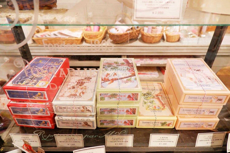 ギフトボックスは8種類(1200円~)を用意。