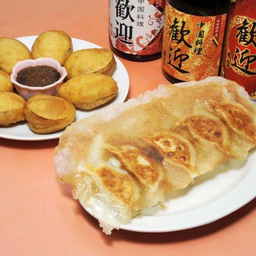 餃子の街・蒲田の『歓迎(ホァンヨン)本店』の羽根付き焼き餃子は、旨い、安い、ボリューム満点!