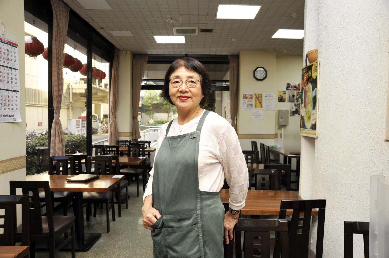 「歓迎という店名はお客様に対する感謝の気持ちを表したものです」と話すオーナーの山崎英理子さん。