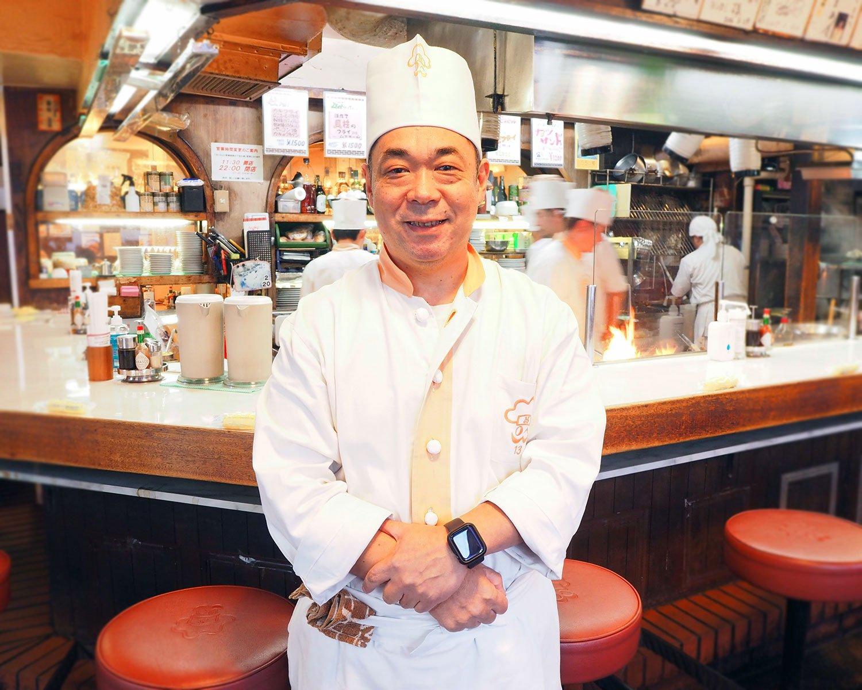 「親子3代にわたって利用する方もいらっしゃいますよ」と話す社長の吾妻弘章さん。