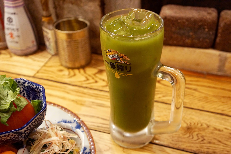 おかわりは西武線つながりの狭山茶わり400円で。