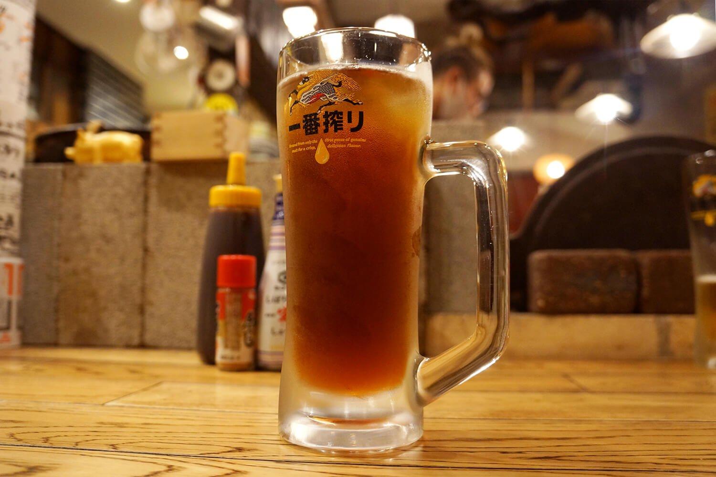 ウーロンハイ300円。