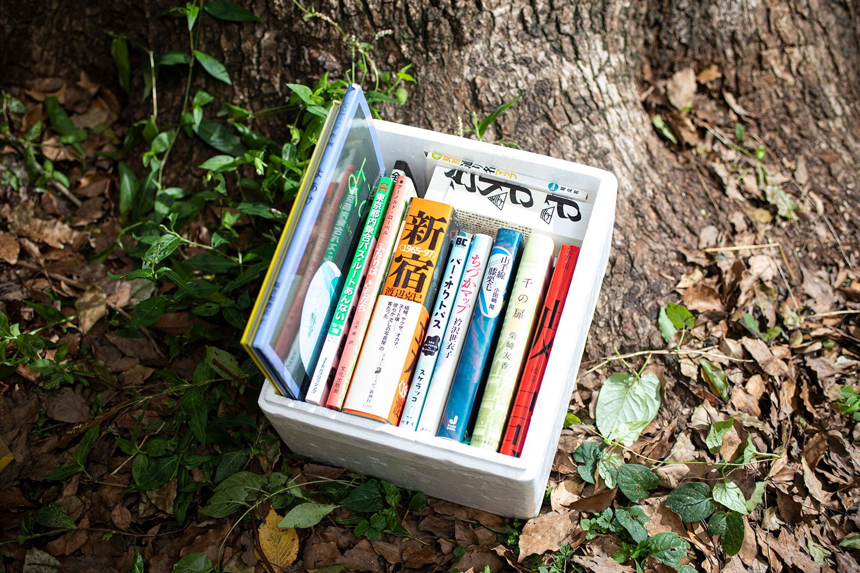 一箱本棚ピクニック