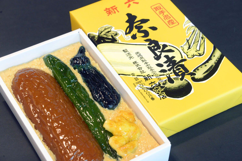 奈良漬(ウリ・キュウリ・ナス・ショウガ)445g2376円。