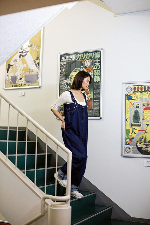 1~3階の階段ギャラリーにも発見がある。