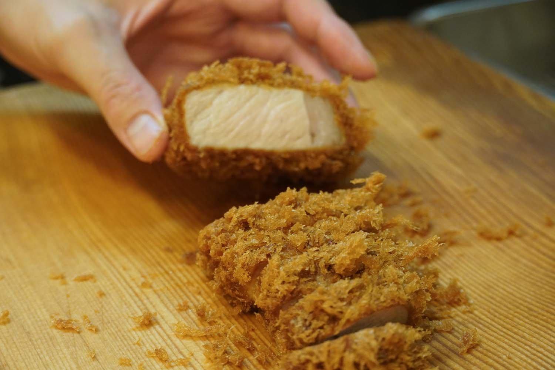 肉質はきめ細かく、加熱しても柔らかい。