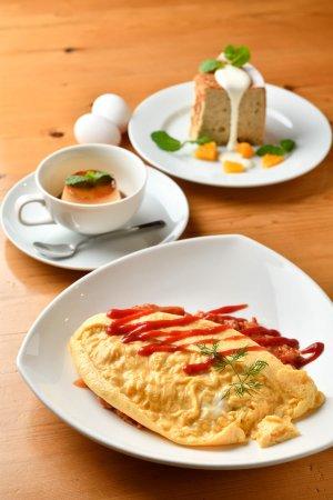 Cafe LaLaLa kitchen料理1