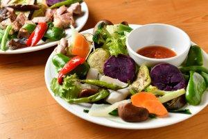 Cafe LaLaLa kitchen料理2