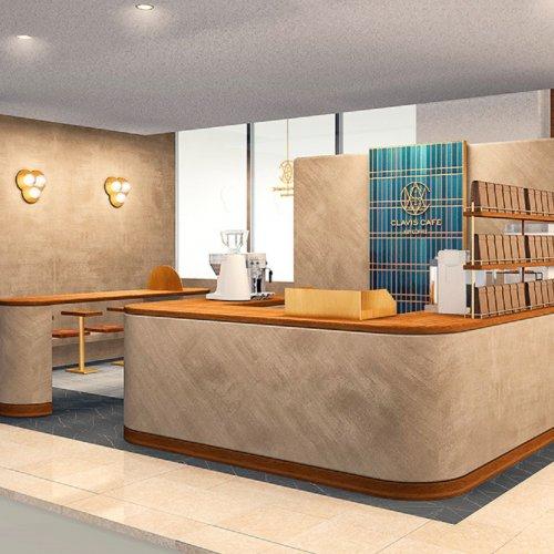 キーコーヒーの直営ショップがオープン! 『CLAVIS(クラビス) CAFE KEY COFFEE』伊勢丹浦和店