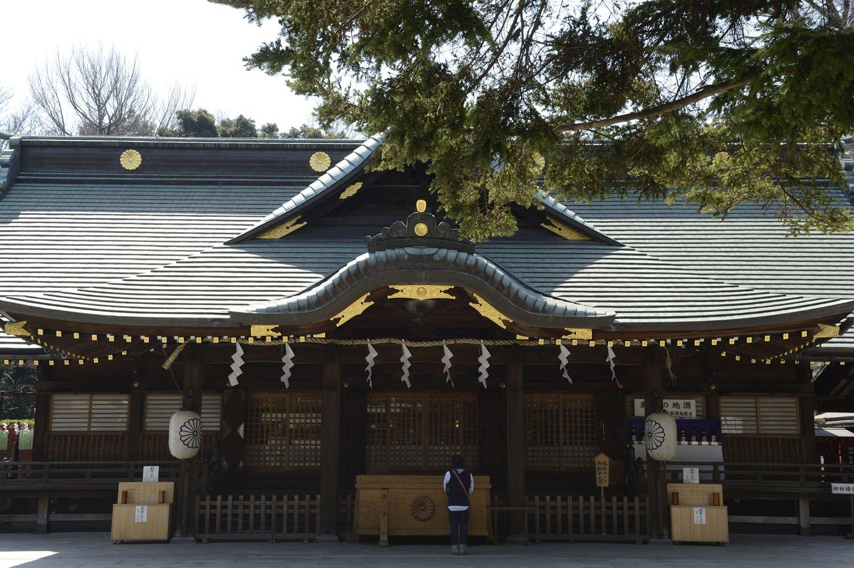 当初南向きだった本殿は11世紀に北向きに改められた。