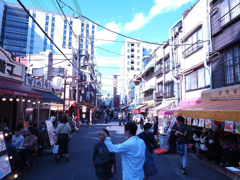 浅草昼のホッピー通り1