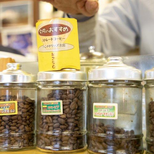 焙煎したてのコーヒーが香る船橋市場のオアシス『Beans House + café』