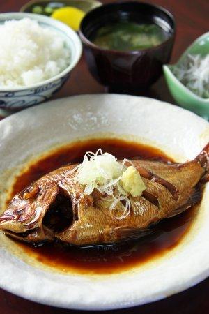 池田丸 煮魚定食
