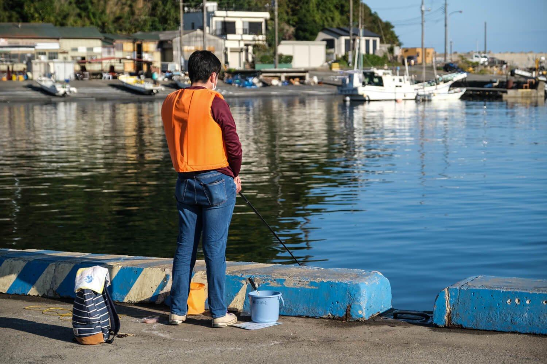 レンタル釣具代にはバケツやライフジャケットの代金も含まれる。