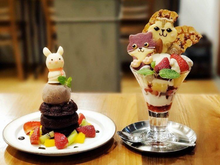 可愛いどうぶつクッキーが大人気のカフェ『henteco(ヘンテコ)森の洋菓子店』~黒猫散歩 都立大学駅編②~