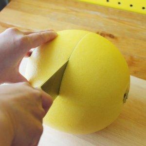 「全てをハイにする」第17弾。でっけぇ柑橘を丸ごとすする「晩白柚ハイ」