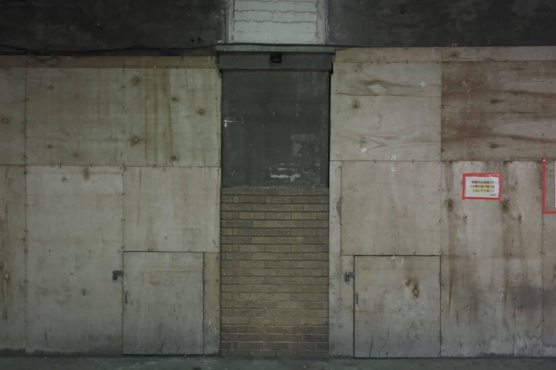柱に巻かれているタイルも開業時からのもの。