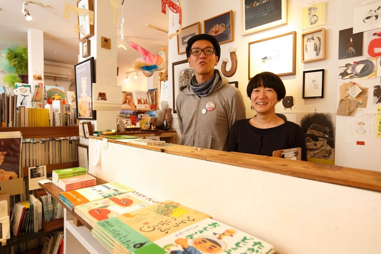 鎌田夫妻の人柄に引かれてクリエイターもお客さんも集まる。