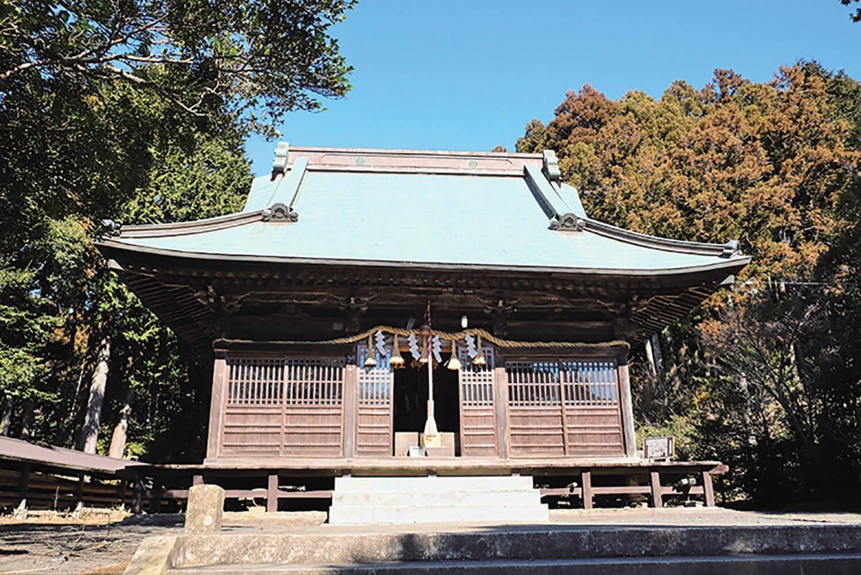 平群天神社。