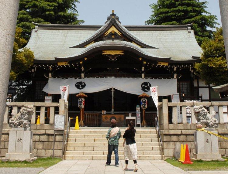 尾久八幡神社(おぐはちまんじんじゃ)