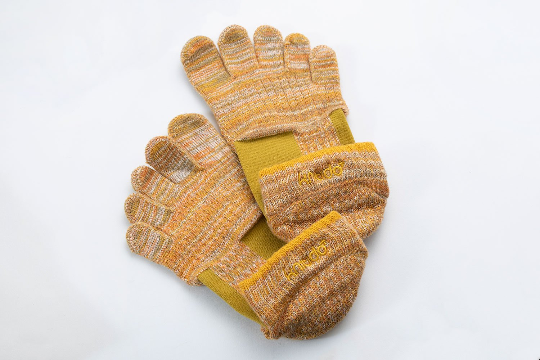 Knitido Foot archマーブルメッシュアンクル (Support type)