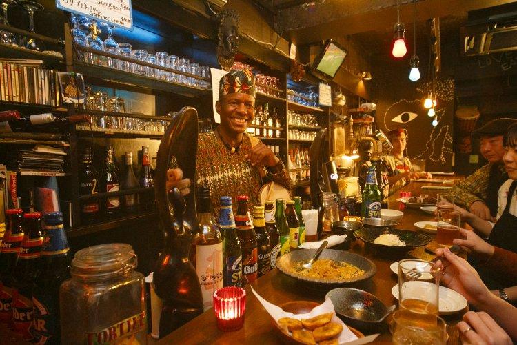 アフリカンレストラン&バー エソギエ