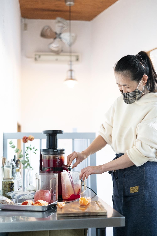 「甘酒やショウガを使ったホットスムージーもあります。冷えを解消し、体を芯から温めたい人におすすめ」と大江さん。