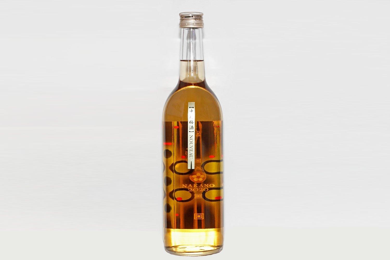中野梅酒NOUVEAU(ヌーボー)720㎖ 1430円。