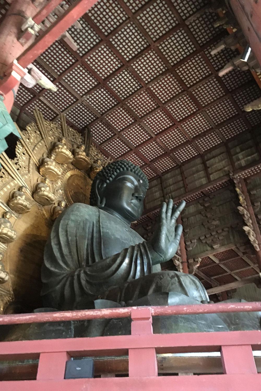 大仏の中の大仏、東大寺の大仏(2019年)