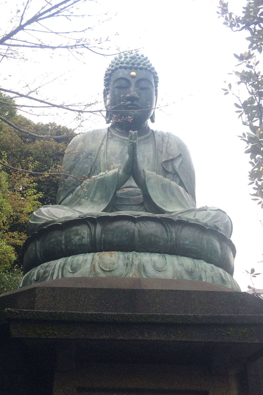 天王寺の釈迦如来像(2017年)