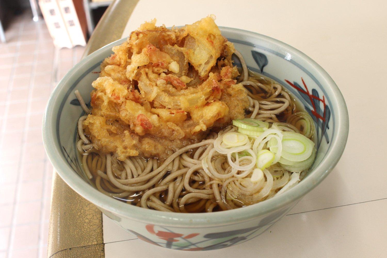 天ぷらそば430円。