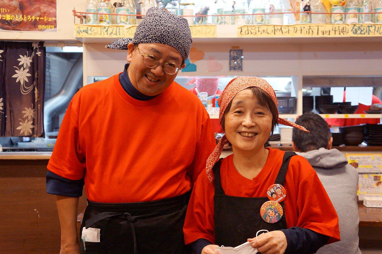 高橋透さん、菜穂子さんご夫妻。