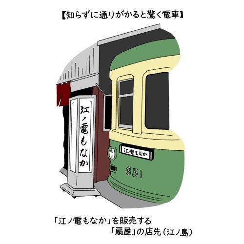 街の中でふと発見する保存車両、つまり「こんなところに電車?」の愉しみ