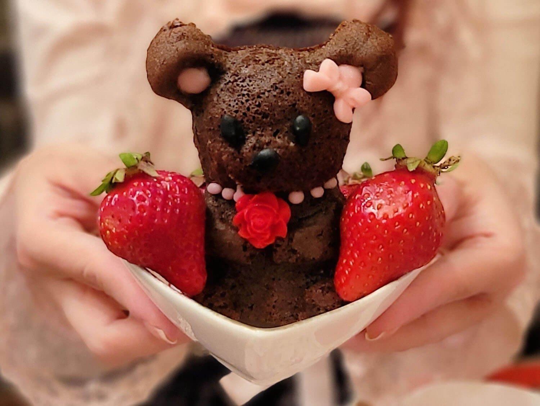 クマケーキ 1500円。