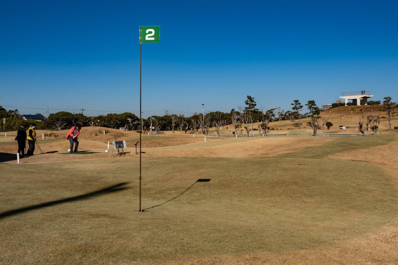 パークゴルフ利用は半日券1000円ほか(用具レンタル代300円)。