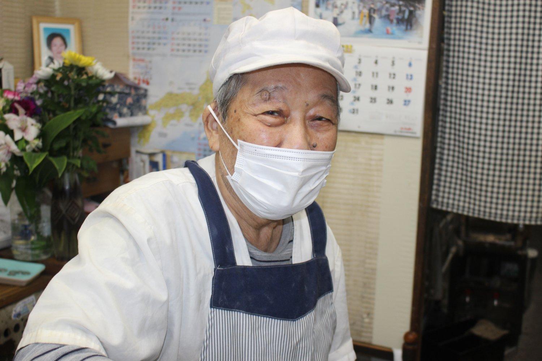 86歳の金原さん。まだまだ元気です。