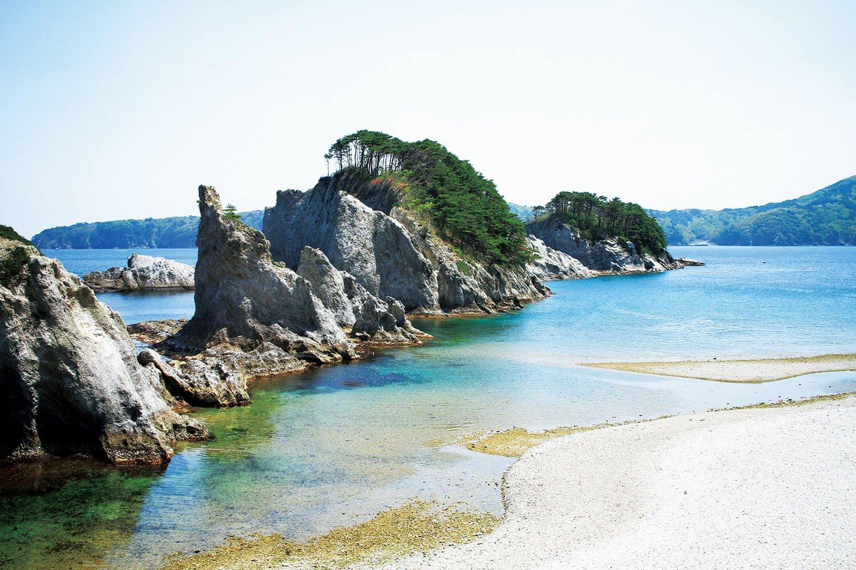 浄土ヶ浜の景観