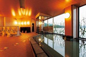 三陸花ホテルはまぎく大浴場「花の湯」