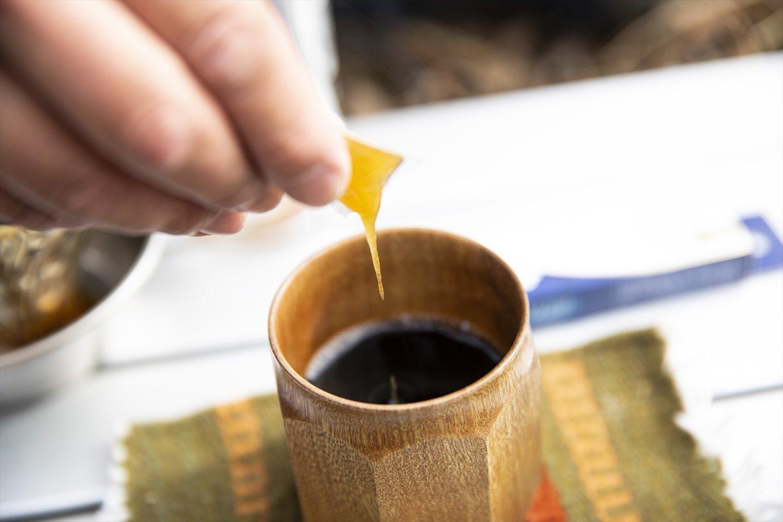 山で最高のコーヒーを