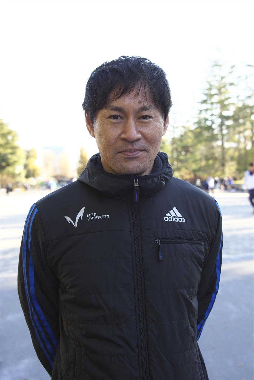 日本陸上競技連盟事業部長の吉澤永一さん。2002年アジア選手権金メダル、翌年パリ世界選手権日本代表など国内外で大活躍した。
