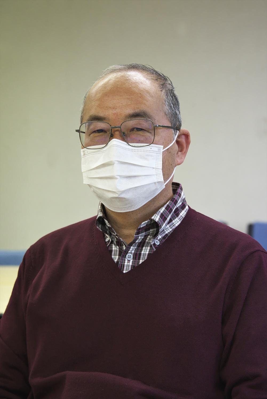 今回の取材直前に母が掲載新聞を押し入れから出してくれて」と松田信彦さん。
