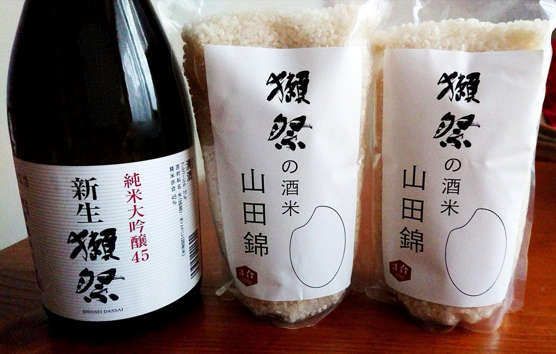 獺祭の酒米