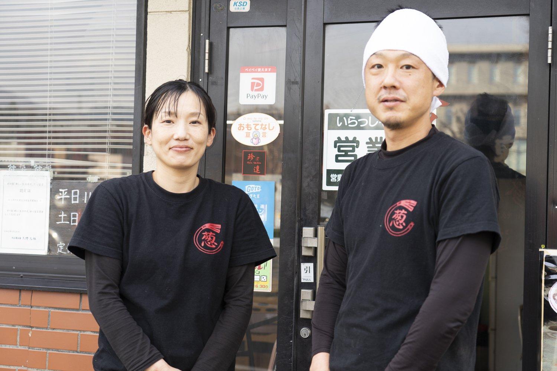 沙代さんと小崎さん。お二人の人柄が、店の空気にも現れている