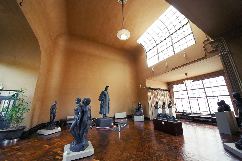 朝倉彫塑館 展示室