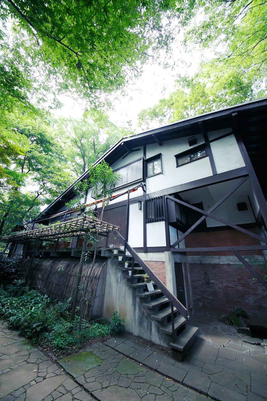 小金井市立はけの森美術館 喫茶棟