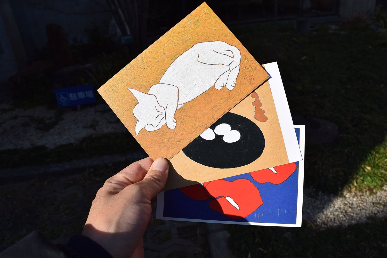熊谷守一美術館でおみやげに買ったポストカード。