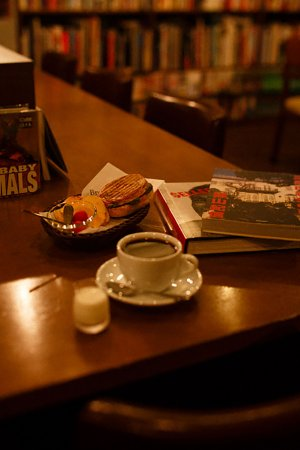 Brown's Books&Cafe コーヒーなど