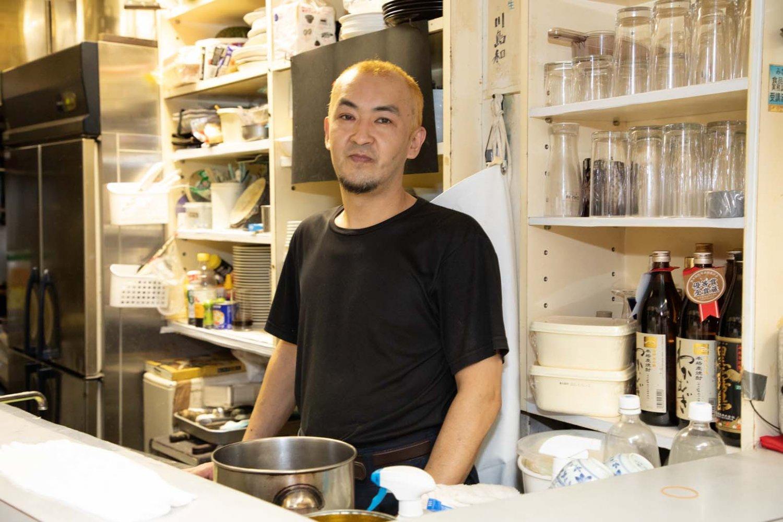 2代目店主の川島和宏さん。